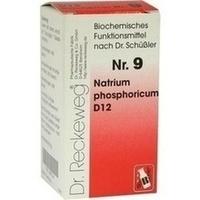 Biochemie 9 Natrium phosphoricum D12, 200 ST, Dr.Reckeweg & Co. GmbH