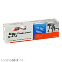 HEPARIN RATIOPHARM SPORT, 100 G, ratiopharm GmbH