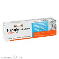 HEPARIN RATIOPHARM 180000, 100 G, ratiopharm GmbH