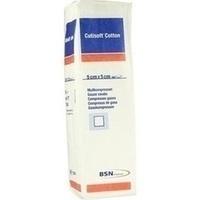 Cutisoft Cotton Kompressen unsteril 12-fach 5x5cm, 100 ST, Bsn Medical GmbH