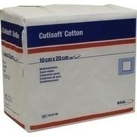 Cutisoft Cotton Kompressen unsteril 12-fach10x20cm, 100 ST, Bsn Medical GmbH