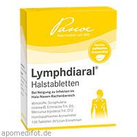 Lymphdiaral Halstabletten, 100 ST, Pascoe pharmazeutische Präparate GmbH