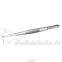 Pinzette anatomisch 20cm rostfrei, 1 ST, Careliv Produkte Ohg