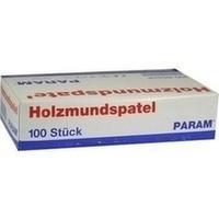 MUNDSPATEL HOLZ KART, 100 ST, Param GmbH