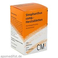Strophanthus comp.-Herztabletten, 250 ST, Biologische Heilmittel Heel GmbH