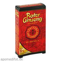 ROTER GINSENG GINTEC 8%, 30 ST, Gintec Europe GmbH