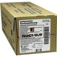 Isotonische Kochsalzlösung Fresenius(Frekaflasche), 10X40 ML, Fresenius Kabi Deutschland GmbH