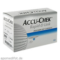 Accu-Chek Rapid-D Link Cannula 6, 25 ST, Roche Diabetes Care Deutschland GmbH