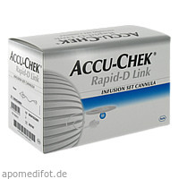 Accu-Chek Rapid-D Link Cannula 10, 25 ST, Roche Diabetes Care Deutschland GmbH