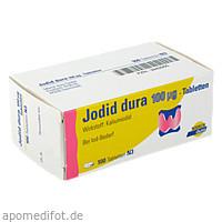 Jodid dura 100ug, 100 ST, Mylan Healthcare GmbH