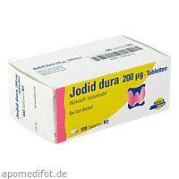 Jodid dura 200ug, 100 ST, Mylan Healthcare GmbH