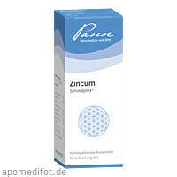 ZINCUM SIMILIAPLEX, 50 ML, Pascoe pharmazeutische Präparate GmbH