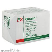 GAZIN Kompresse 10x10cm 8fach OP, 100 ST, Lohmann & Rauscher GmbH & Co. KG