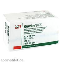 GAZIN Mullkompresse 10x10cm 12fach mit RK unsteril, 100 ST, Lohmann & Rauscher GmbH & Co. KG