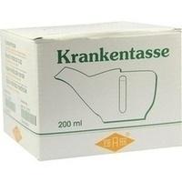 Krankentasse Porzellan rund Henkel rechts, 200 G, Büttner-Frank GmbH