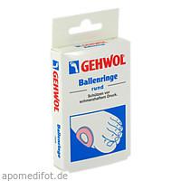 GEHWOL BALLENRINGE RUND, 6 ST, Eduard Gerlach GmbH