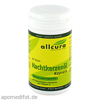 NACHTKERZENOEL, 90 ST, Allcura Naturheilmittel GmbH