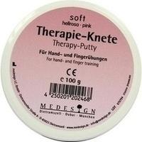 Therapie Knete Soft Hellrosa, 100 G, Medesign I. C. GmbH