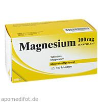 MAGNESIUM 100MG JENAPHARM, 100 ST, Mibe GmbH Arzneimittel