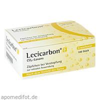 Lecicarbon E CO2-Laxans, 100 ST, Athenstaedt GmbH & Co. KG