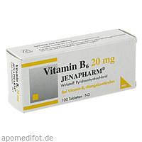 VITAMIN B 6 20MG JENAPHARM, 100 ST, Mibe GmbH Arzneimittel