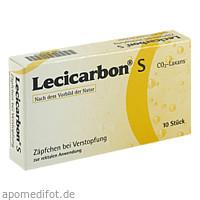 Lecicarbon S CO2-Laxans, 10 ST, Athenstaedt GmbH & Co. KG