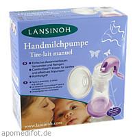 LANSINOH Handmilchpumpe mit 2x150ml Flaschen, 1 P, Lansinoh Laboratories Inc. Niederlassung Deutschland