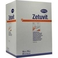 Zetuvit Saugkompresse steril 10X10cm, 25 ST, Bios Medical Services GmbH