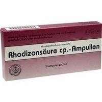 Rhodizonsäure cp. Ampullen, 10X2 ML, Adjupharm GmbH