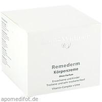 Widmer Remederm Körpercreme unparfümiert, 250 ML, Louis Widmer GmbH
