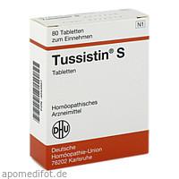 TUSSISTIN S, 80 ST, Dhu-Arzneimittel GmbH & Co. KG