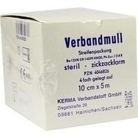 VERBANDMULL 10CMX5M 4FACH STERIL, 1 ST, Kerma Verbandstoff GmbH