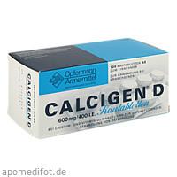 Calcigen D Kautabletten, 120 ST, Meda Pharma GmbH & Co. KG