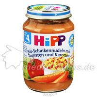 HIPP 6210 Schinkennudeln m. Tomaten u. Karotten, 190 G, Hipp GmbH & Co.Vertrieb KG