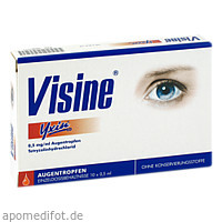 Visine Yxin ED, 10X0.5 ML, Johnson&Johnson Gmbh-Chc