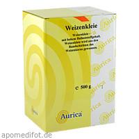 Weizenkleie, 500 G, Aurica Naturheilm.U.Naturwaren GmbH