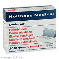 DEDERON FIXIERBIN 4MX6CM, 20 ST, Holthaus Medical GmbH & Co. KG