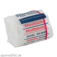 ELAST MULLBINDE 4MX4CM, 1 ST, Holthaus Medical GmbH & Co. KG