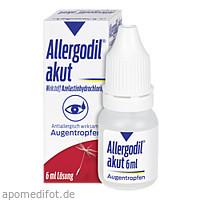 Allergodil akut Augentropfen, 6 ML, Meda Pharma GmbH & Co. KG