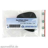 AUGENKLAPPE GUM SCHW 34000, 1 ST, Dr. Junghans Medical GmbH