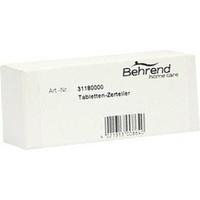TABLETTENZERTEILER, 1 ST, Willy Behrend GmbH + Co. KG