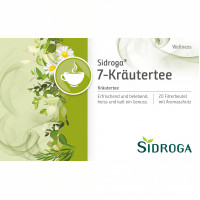 Sidroga Wellness 7-Kräutertee, 20X2.0 G, Sidroga Gesellschaft Für Gesundheitsprodukte mbH
