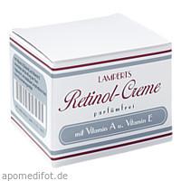 Retinol Creme parfümfrei Lamperts, 50 ML, Berco-ARZNEIMITTEL