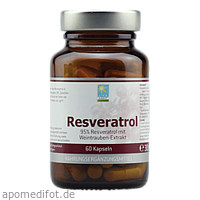 Resveratrol, 60 ST, Apozen Vertriebs GmbH