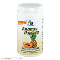 Ananas-Papaya-Kapseln, 60 ST, Avitale GmbH