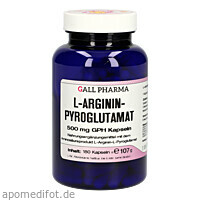 L-ARGININPYROGLUTAMAT 500mg GPH, 180 ST, Hecht-Pharma GmbH