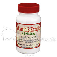 Vitamin B-Komplex + Folsäure Junek, 60 ST, Bios Medical Services