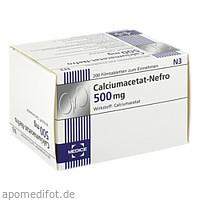 Calciumacetat-Nefro 500mg, 200 ST, Medice Arzneimittel Pütter GmbH & Co. KG