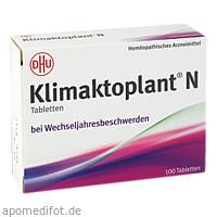 Klimaktoplant N, 100 ST, Dhu-Arzneimittel GmbH & Co. KG