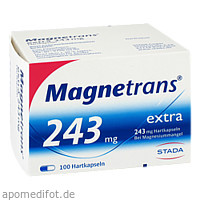 Magnetrans Extra 243mg, 100 ST, STADA Consumer Health Deutschland GmbH